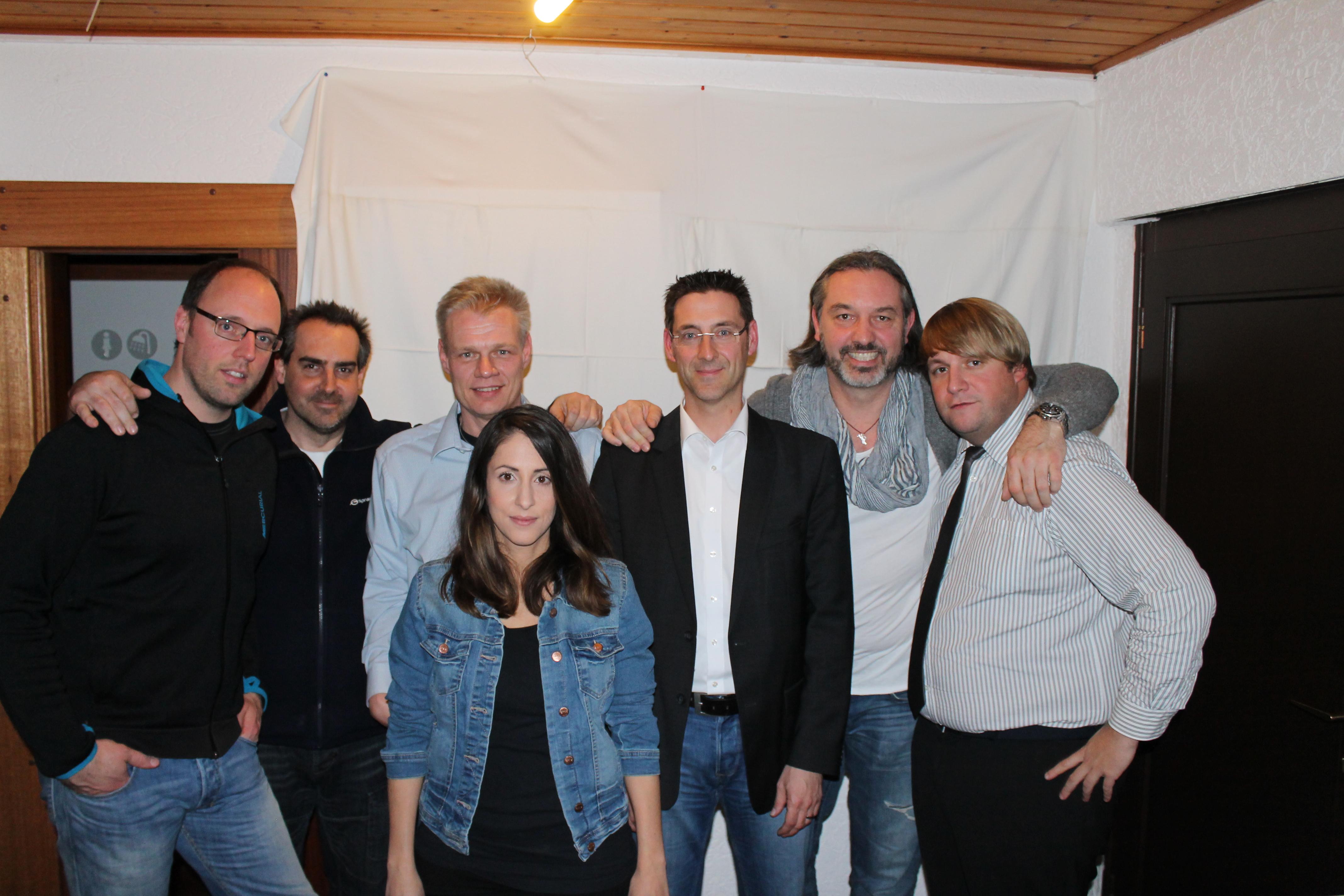 Der neue Vorstand des TCW: Daniel Stöhr, Patrick Lang, Michael Klippel, Tobias Brandt, Alexander Rentsch, Daniel Ruiz Martinez und Christina Josten